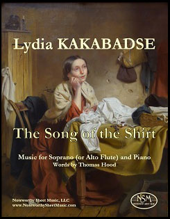 Kakabadse - The Song of the Shirt - Soprano (or Alto Flute