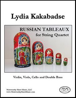 Kakabadse - Russian Tableaux - String Quartet