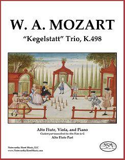 Mozart - Kegelstatt Trio - Alto Flute