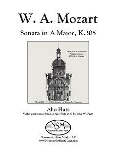 mozart.k305 cover image 240px