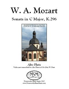 mozart.sonata in c major k296.cover image 240px