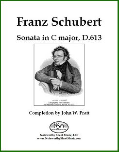 schubert.sonata in c major nsm